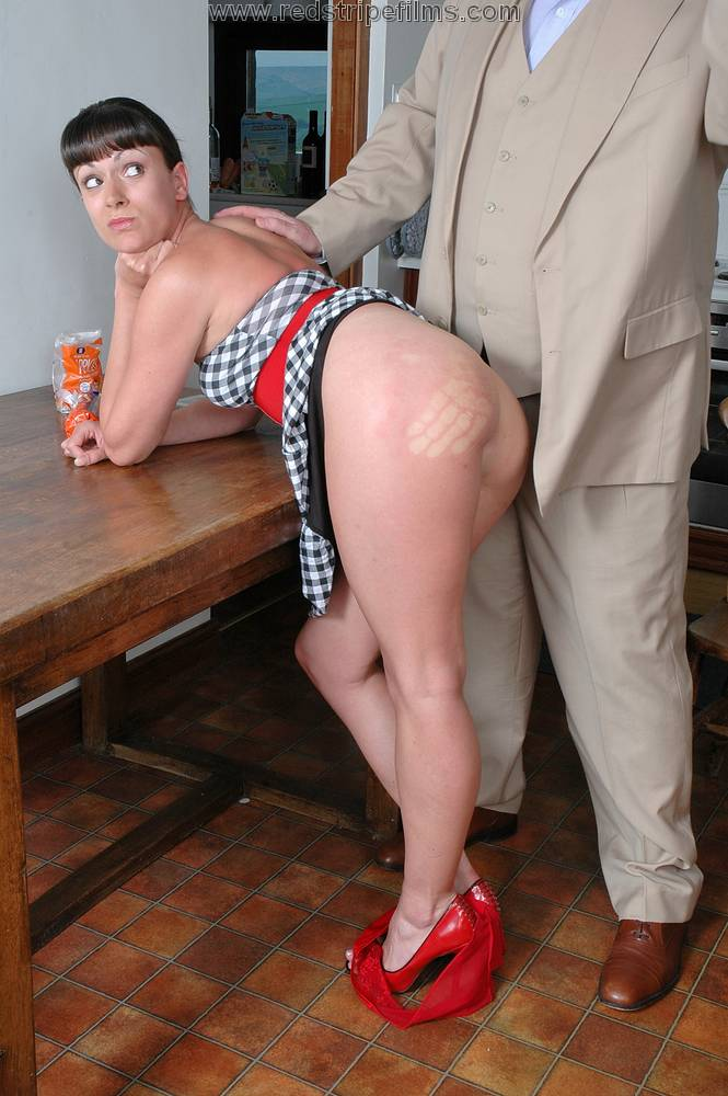 image Husband spanks wife for the credit card bill Part 3