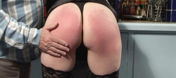 A good bare bottom spanking
