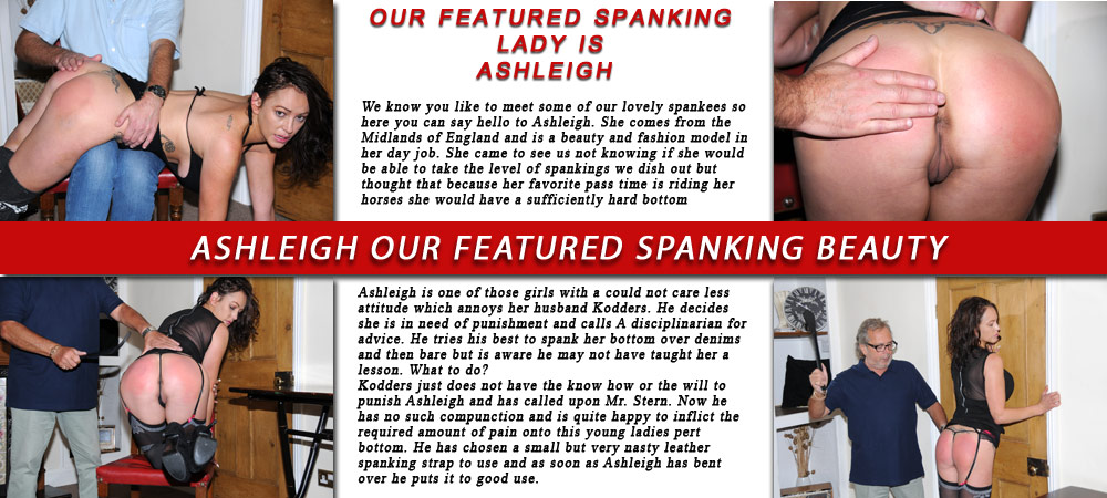 Featured spankee Ashleigh