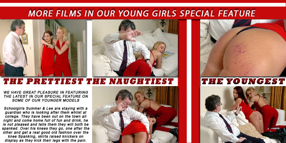 More spanking for young girls