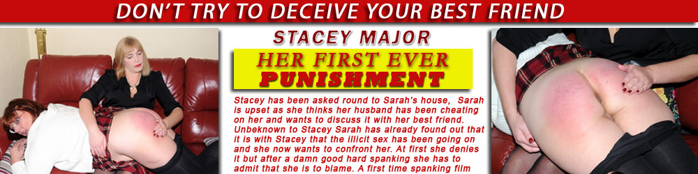 Stacey Major first punishment