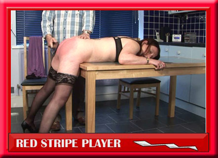 Tanya bent over the kitchen table